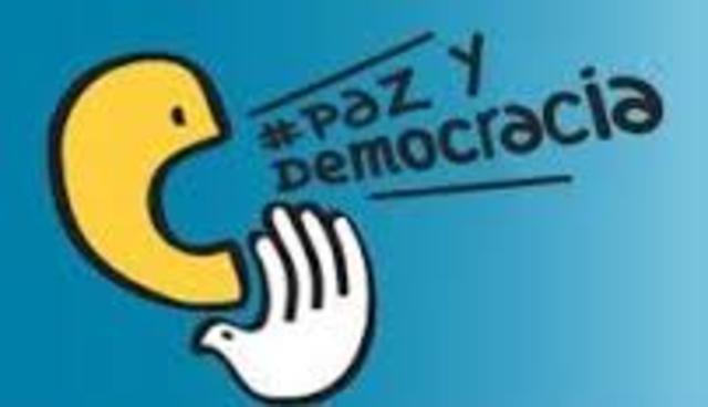 """Suscripción de la """"Declaración contra la Violencia por la Paz y la Democracia"""" Venezuela"""