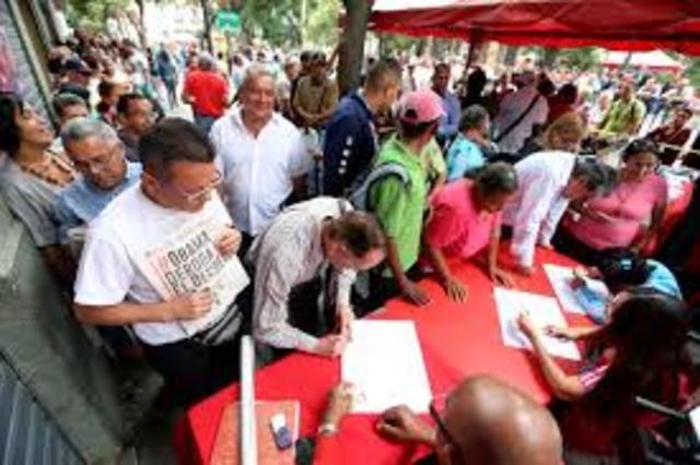 Firma de Acuerdo entre Gobierno Venezolano y otros.