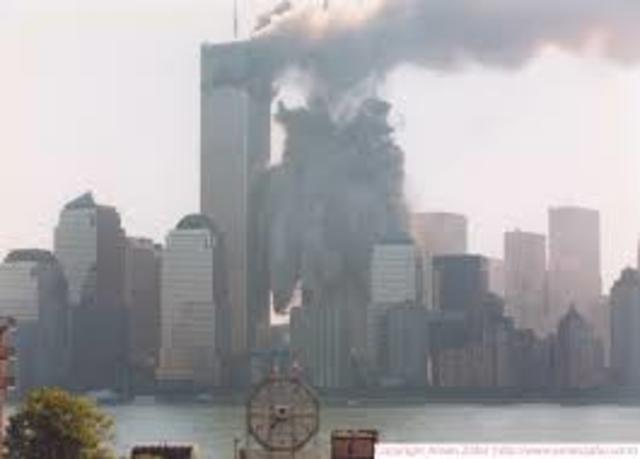9:59 AM- Collapse of the South Tower.