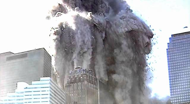 10:28 AM- Collapse of the North Tower.