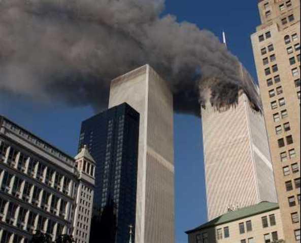 8:46 AM- 5 hijackers crash American Airlines flight 11