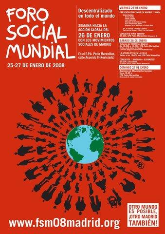 Primer encuentro muncial Foro Social Mundial