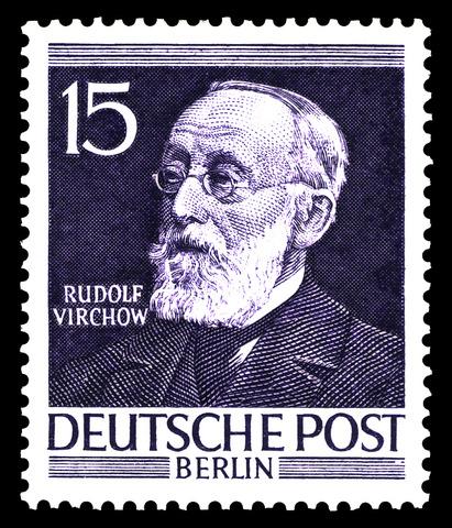 "Rudolf Virchow amplia la teoria cel·lular: ""Omnis cellula ex cellula"""