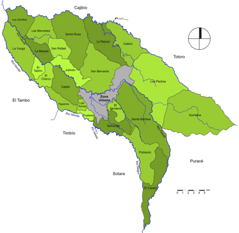 La retaguardia levanta el campo y emprende el regreso a Popayán