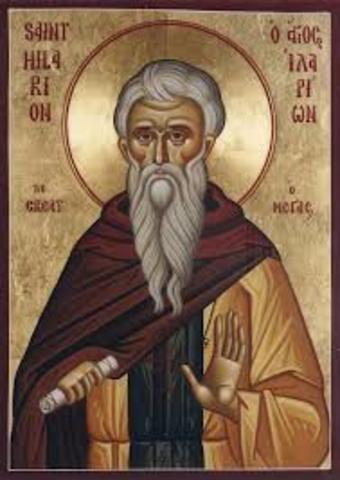 San Hilarión (291-371)