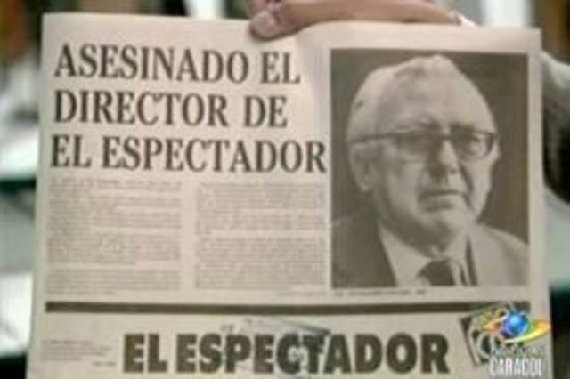 Asesinado el director del tiempo Guillermo Cano