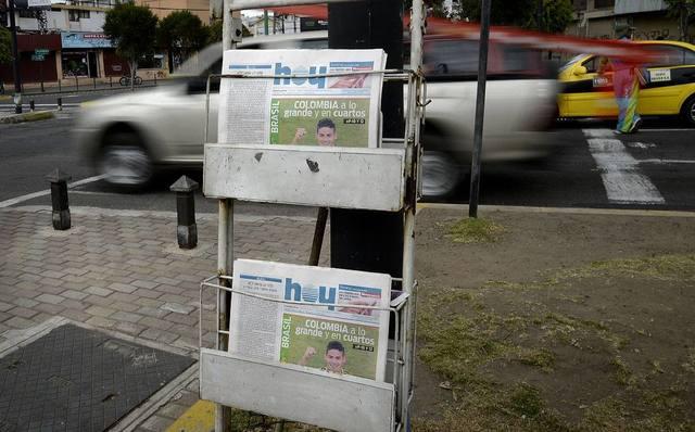 Última edición Diario Hoy