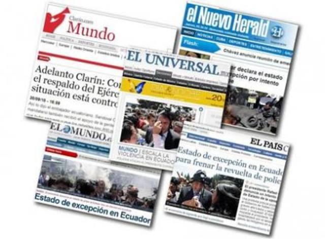 Diarios digitales en el Ecuador