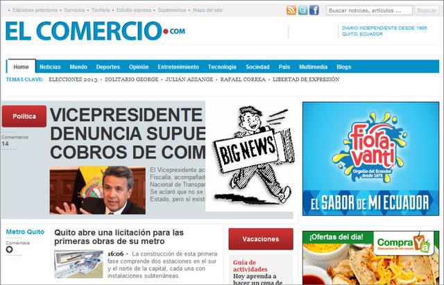 Edición mejorada El Comercio