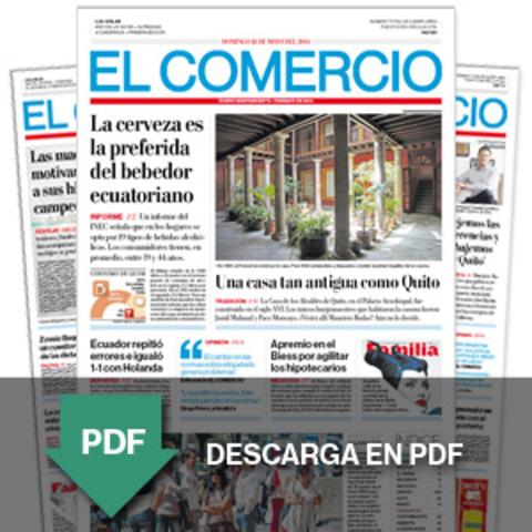 Primera edición digital de EL Comercio
