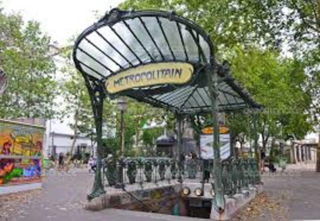 Estaciones de metro parisinas