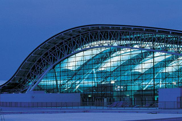 Terminal del aeropuerto de Stanted en Essex