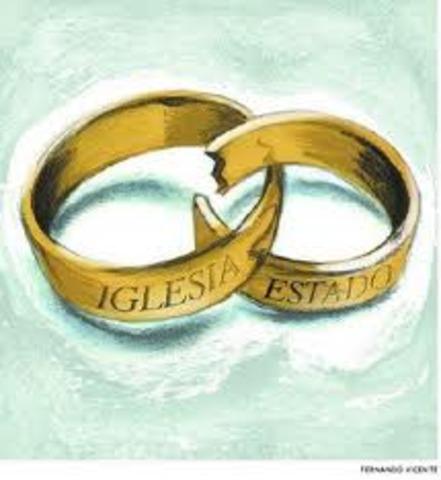 Separación de la Iglesia y el estado