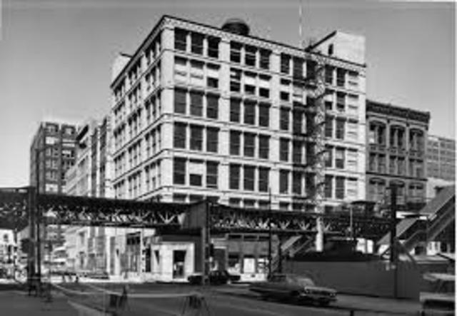 First Leither building