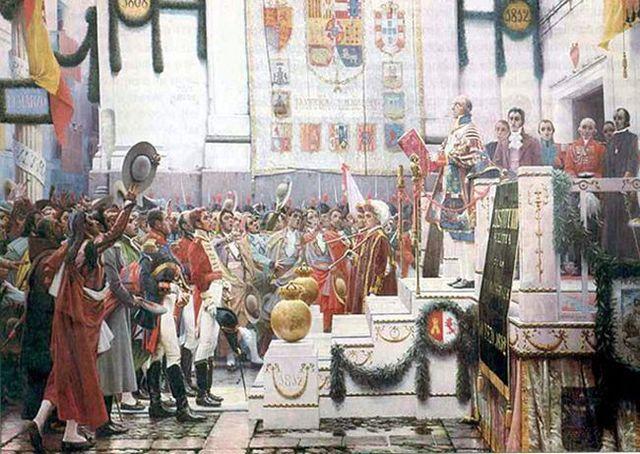 La Constitución de Cádiz (1812),