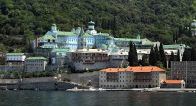 Monacato en Constantinopla y Monte Athos.