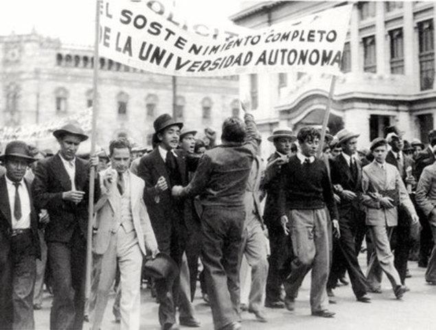 AUTONOMIA DE LA UNIVERSIDAD NACIONAL DE MEXICO