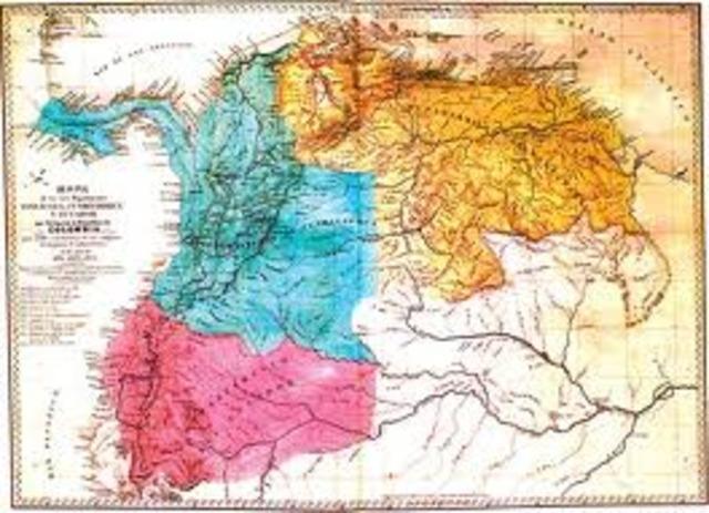 Nacimiento al estado de Gran Colombia