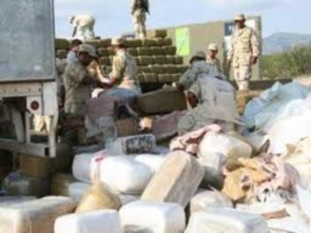 Guerra contra los narcotraficantes