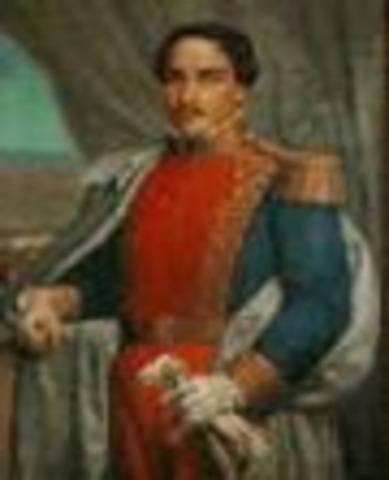Presidente de Nueva Granada: Francisco de Paula Santander
