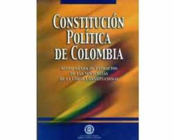 Surge la constitucion de 1991