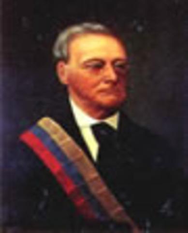 Presidente de Nueva Granada: José Ignacio Márquez