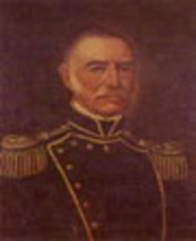 Presidente de Nueva Granada: Pedro Alcántara Herrán
