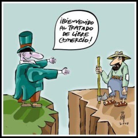 Se firma TLC EEUU-Centroamérica