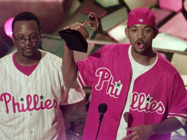 DJ Jazzy Jeff and The Fresh Prince won a Grammy Award.
