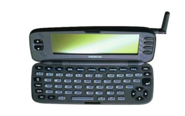 First phone to have a full keyboard