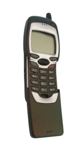 First cell phone with internet