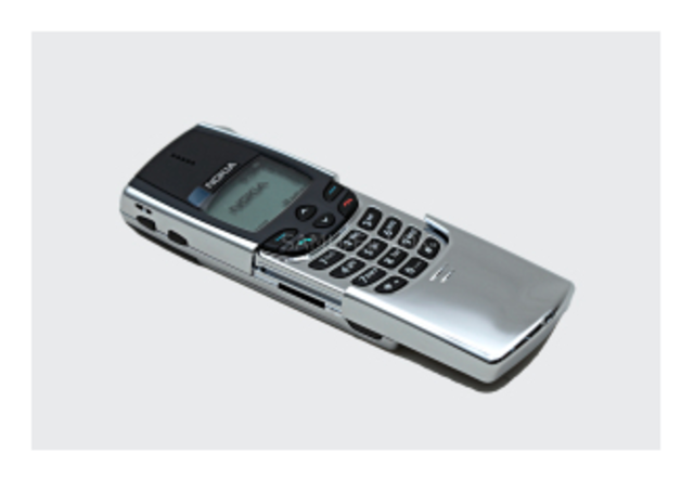 First cell phone to have an international antenna.