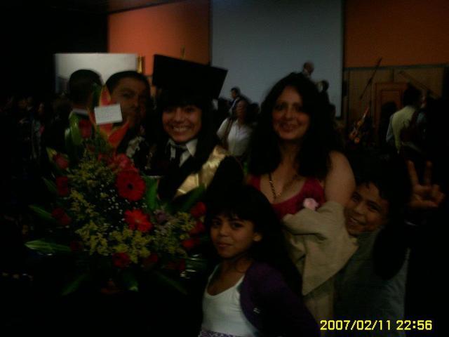 La graduación de 11 de mi hermana