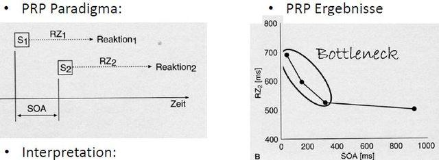 Paradigma der psychologischen Refraktärperiode (PRP), Welford