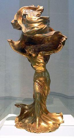 François-Raoul Larche-Art Nouveau Sculpture