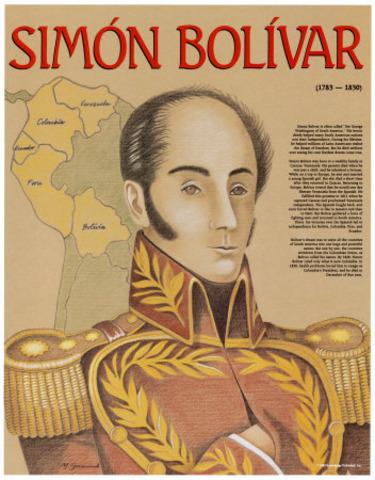 Bolivar se retira de la presidencia