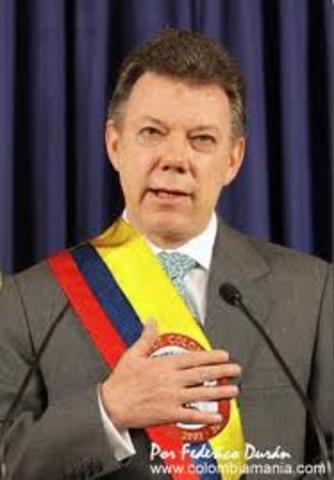 Posesión Presidente Juan Manuel Santos