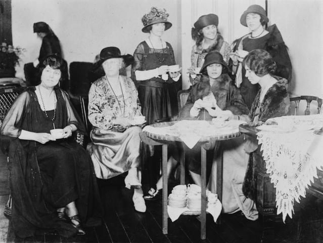National Women's Party (NWP) Formed as Outgrowth of the Congressional Union