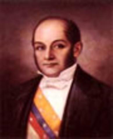 Presidente de Nueva Granada: José de Obaldía