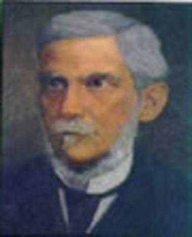 Presidente de la Confederación Granadina: Bartolomé Calvo