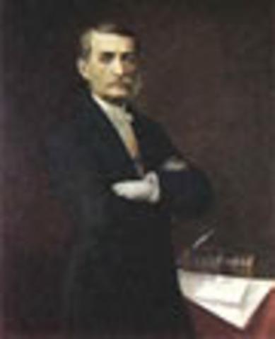 Presidente de los Estados Unidos de Colombia: Manuel Murillo Toro