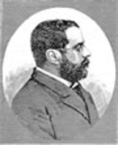Presidente de la Republica de Colombia: Miguel Antonio Caro Tovar
