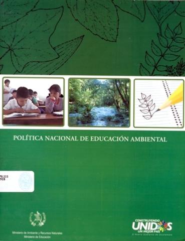 La Política Nacional de Educación Ambiental
