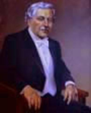 Presidente de la República de Colombia: José Vicente Concha