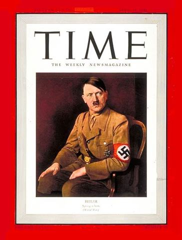 Hitler becomes Times Man of the Year