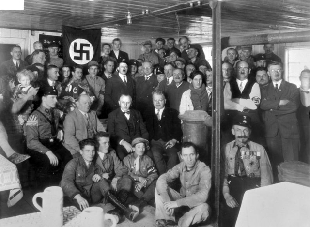 Hitler becomes Leader on Nazi Party