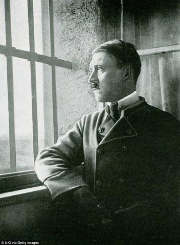 Hitler Imprisoned for High Treason