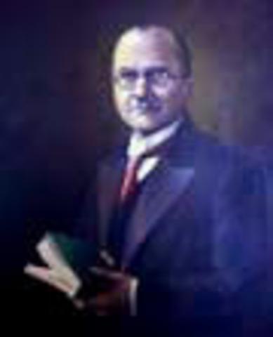 Presidente de la República de Colombia: Miguel Abadía Méndez