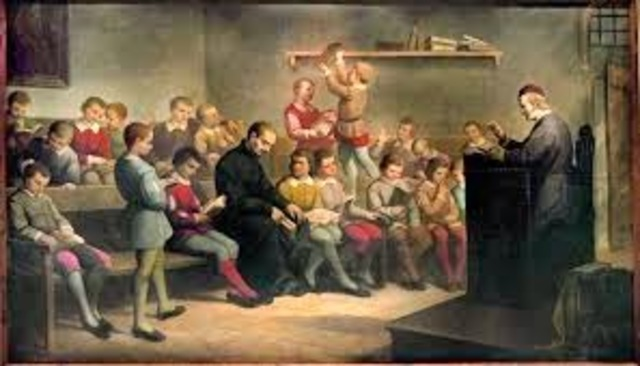 Jesuitas (Finales del siglo XVI). España.