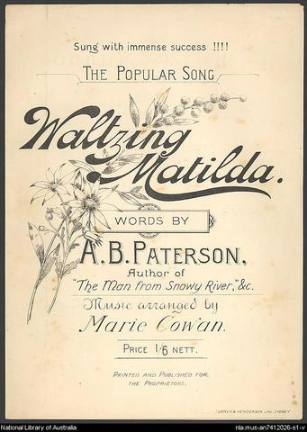 Waltzing Matilda performed publicly for the first time